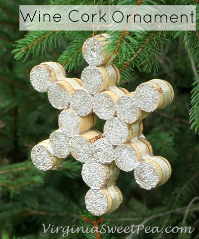 Brilliant DIY Wine Cork Craft Projects for Christmas Decoration