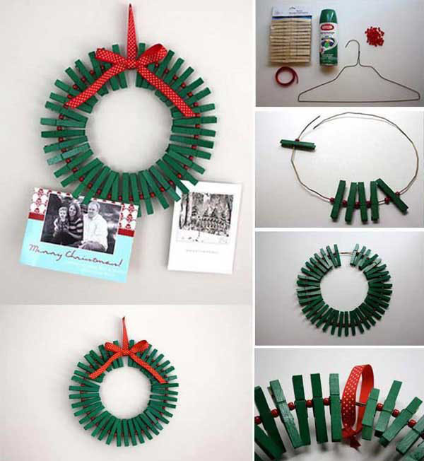 Christmas Wreath Craft Ideas Part - 34: 20+ DIY Christmas Wreath Ideas And Projects To Adore Your Home3