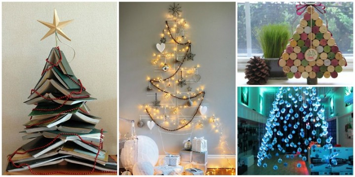 20 Unique DIY Christmas Tree Ideas And Projects Anyone Will Love
