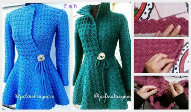 Diy Crochet Princess Cardigan Free Pattern Tutorial Video