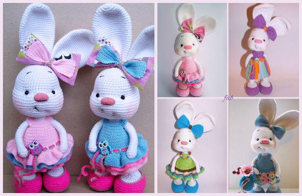 Amigurumi Bunny Free : Crochet amigurumi bunny free patterns