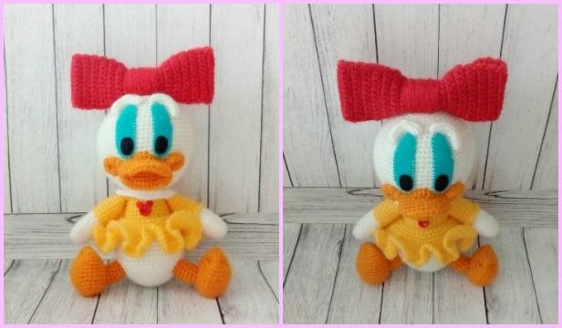 Crochet Amigurumi Webby Duck Free Pattern