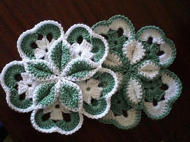 Crochet Starburst Flower Free Pattern Video