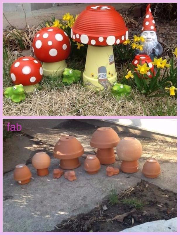 DIY Clay Pot Mushroom Toadstool Tutorials & DIY Clay Pot Mushroom Toadstool Tutorialsv islam-shia.org
