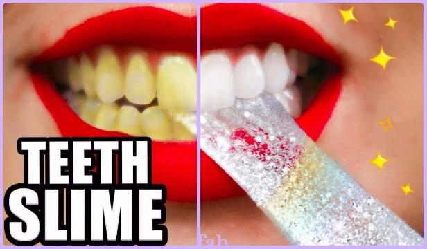 Diy homemade teeth whitening slime tutorial solutioingenieria Image collections