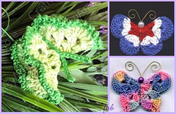 Crochet 3d Butterfly Free Patterns Amp Tutorials