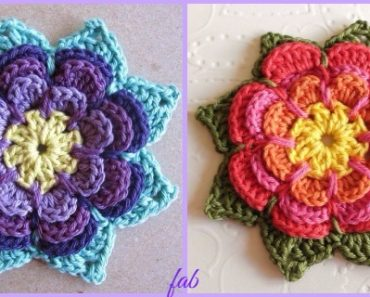 Amigurumi Flowers Free Patterns : Crochet elephant amigurumi free pattern with video