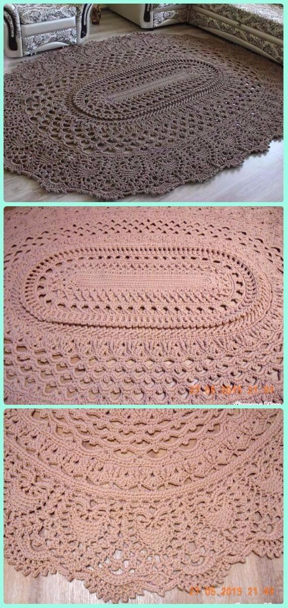 Diyhowto Crochet Area Rug Ideas Free Patterns 11 Diy Magazine