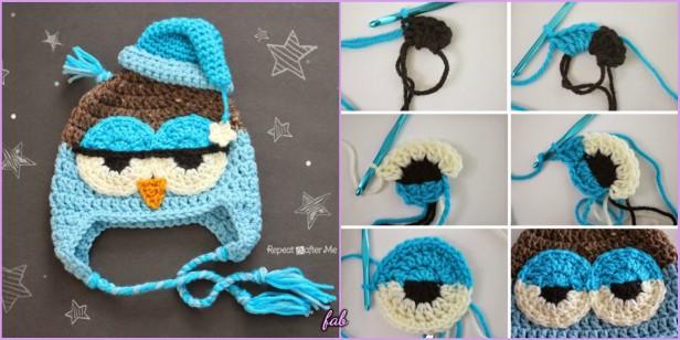 Crochet Owl Hat Free Patterns