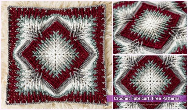 Crochet Elements Cal Blanket Free Pattern
