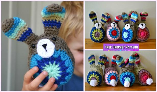 Amigurumi Easy Pattern Free : Easy crochet bunny amigurumi free pattern