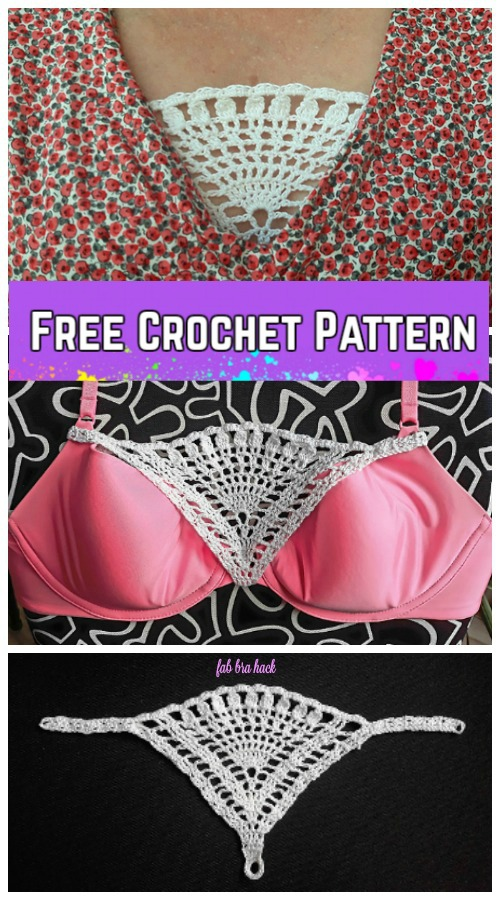 Genius Idea Lace Modesty Panel That Attaches To Your Bra Sewing