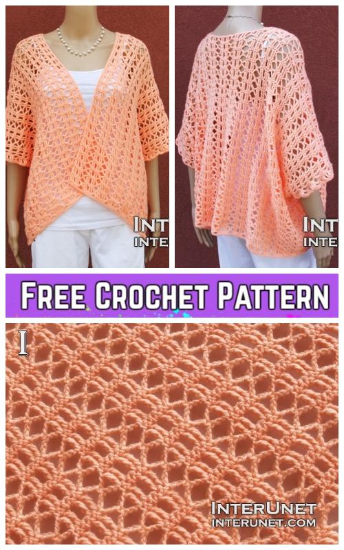 Crochet Summer Shrug Free Crochet Pattern Video Included