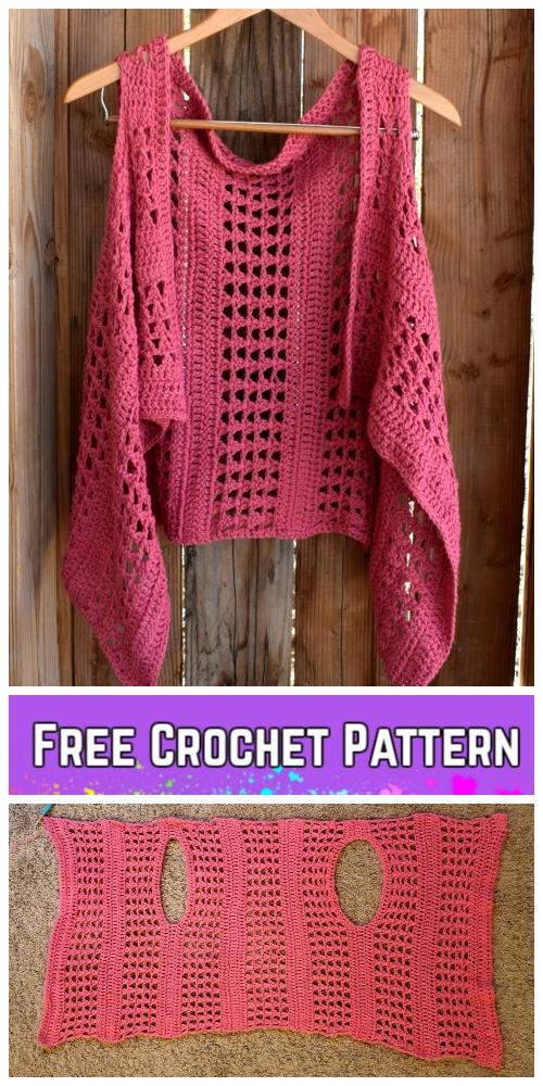 Crochet Xoxo Summer Vest Free Crochet Pattern Diy Magazine