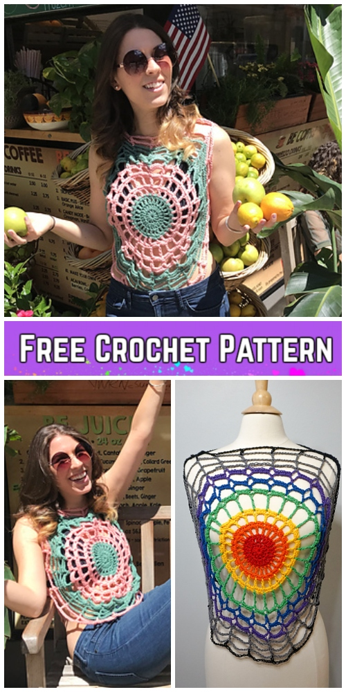 Fabulous Beach Top Crochet Patterns for Ladies