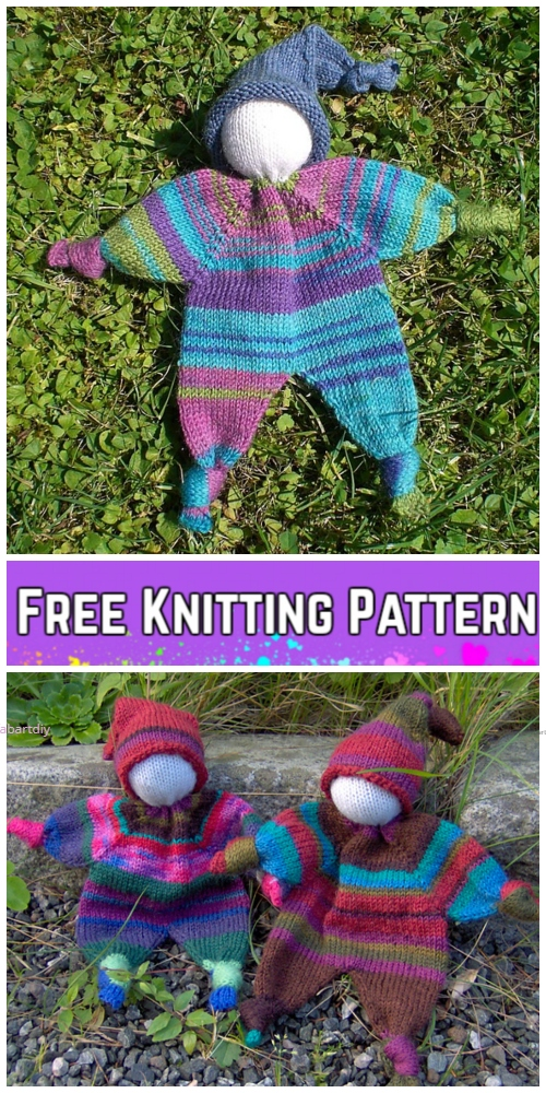 Knit Amigurumi Doll Lovey Blanket Free Knitting Pattern Diy Magazine