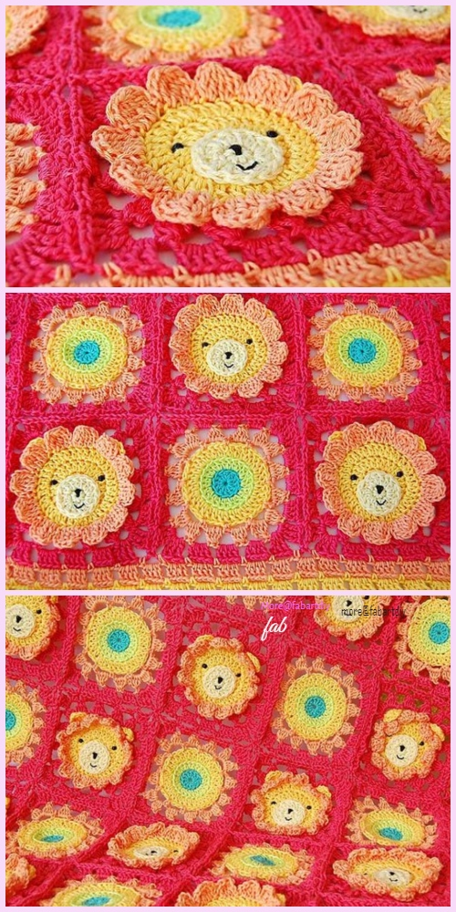 Amazing Red Lion Crochet Patterns Inspiration - Easy Scarf Knitting ...
