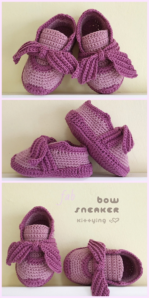 Crochet Baby Sneakers Free Pattern Paid Video