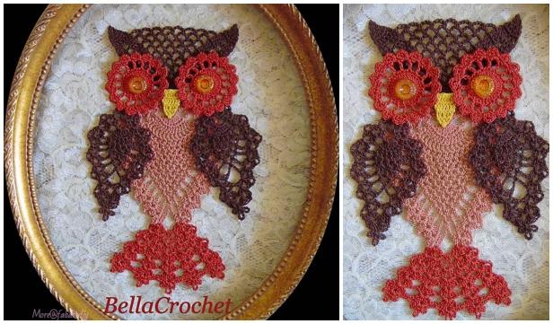Crochet Pineapple Owl Free Crochet Patterns By Elizabeth Ann White