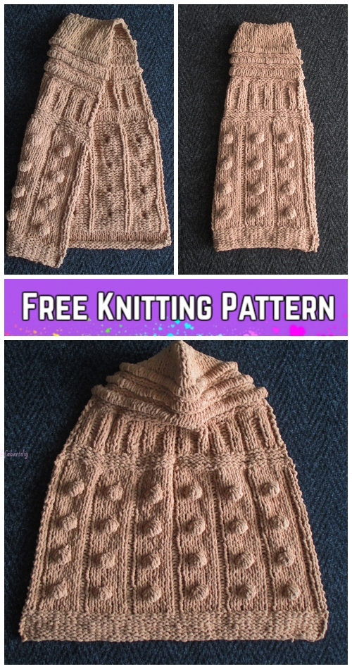 Knit Hooded Baby Blanket Free Knitting Patterns