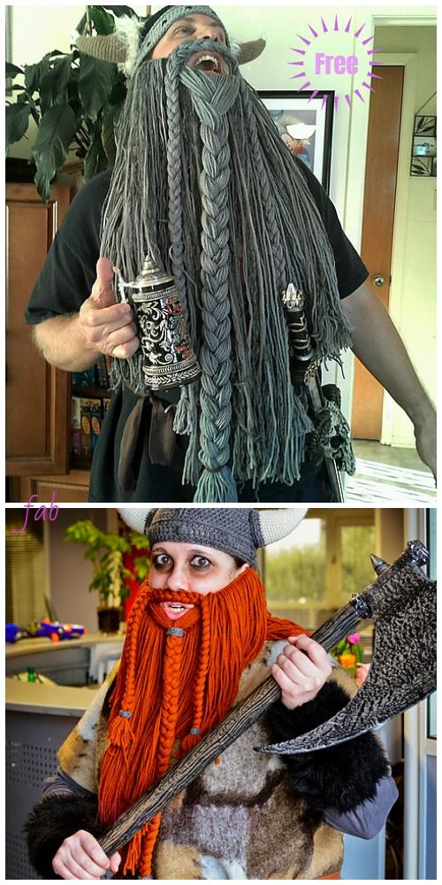 W40 Handmade Crocheted Viking Helmet Hat For Winter Ski Mask Buy