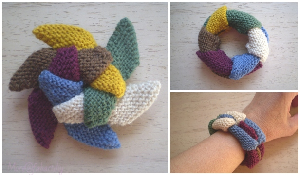 Knit Sliding Star Free Knitting Pattern