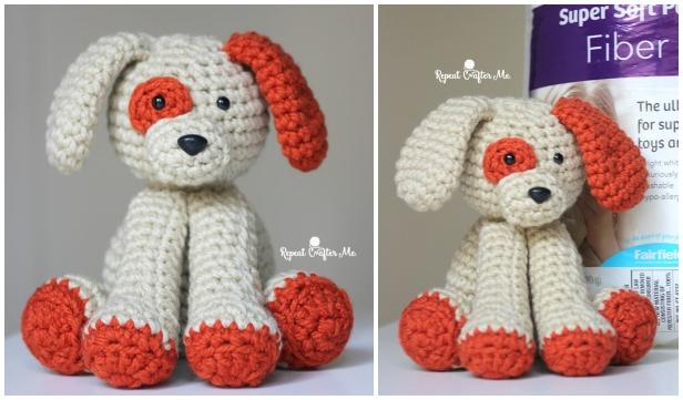 Amigurumi Plush Puppy Dog Toy Free Crochet Pattern