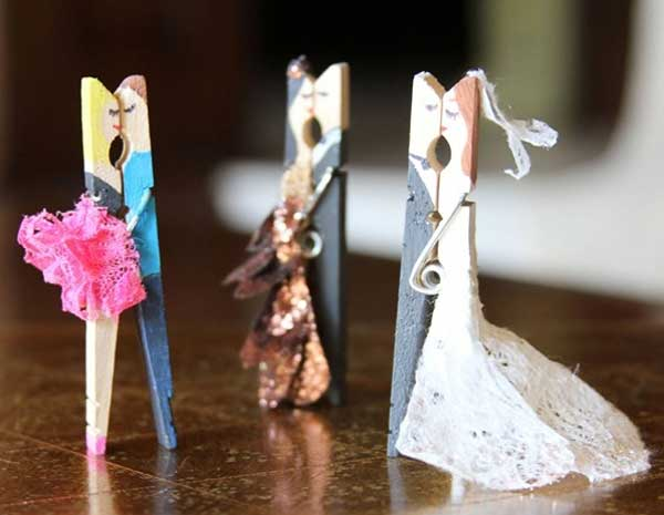 20 Creative Uses for Clothespins You Can Make For Your Home4