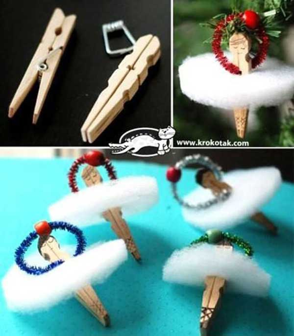 20 Creative Uses for Clothespins You Can Make For Your Home6