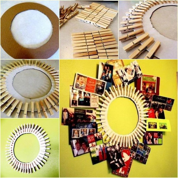 20 Creative Uses for Clothespins You Can Make For Your Home8