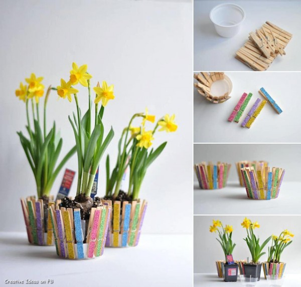 20 Creative Uses for Clothespins You Can Make For Your Home9
