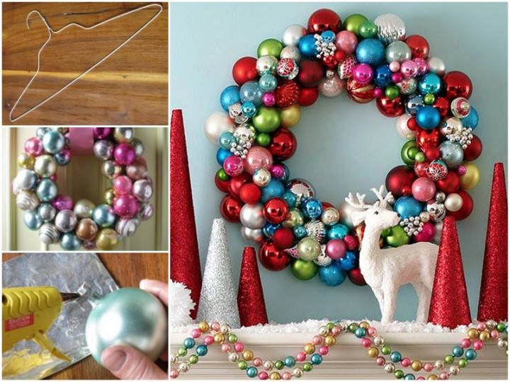 20+ DIY Christmas Wreath Ideas and Projects to Adore Your Home10