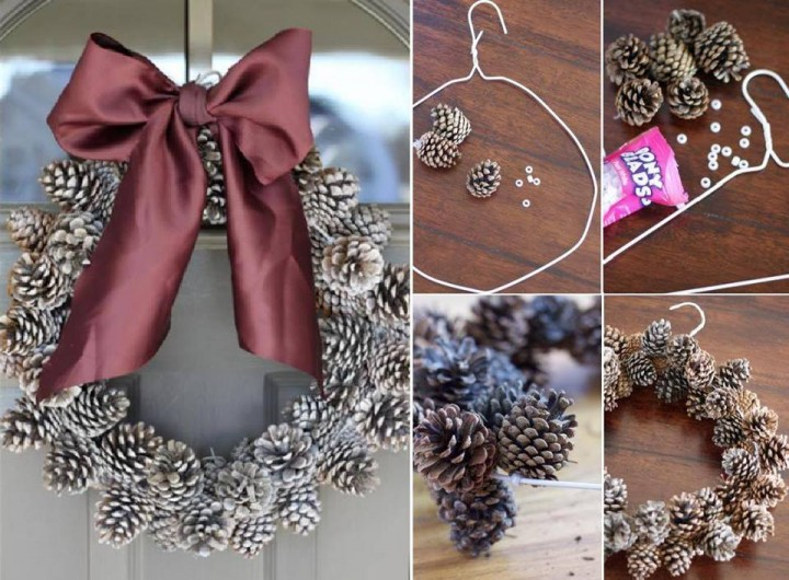 20+ DIY Christmas Wreath Ideas and Projects to Adore Your Home7