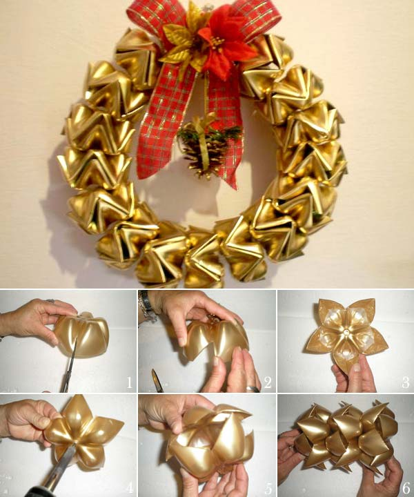 20+ DIY Christmas Wreath Ideas and Projects to Adore Your Home9