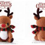 Crochet Rudy The Reindeer Amigurumi Free Patterns