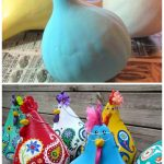 DIY Paint Paisley Gourd Chicken Art Tutorial