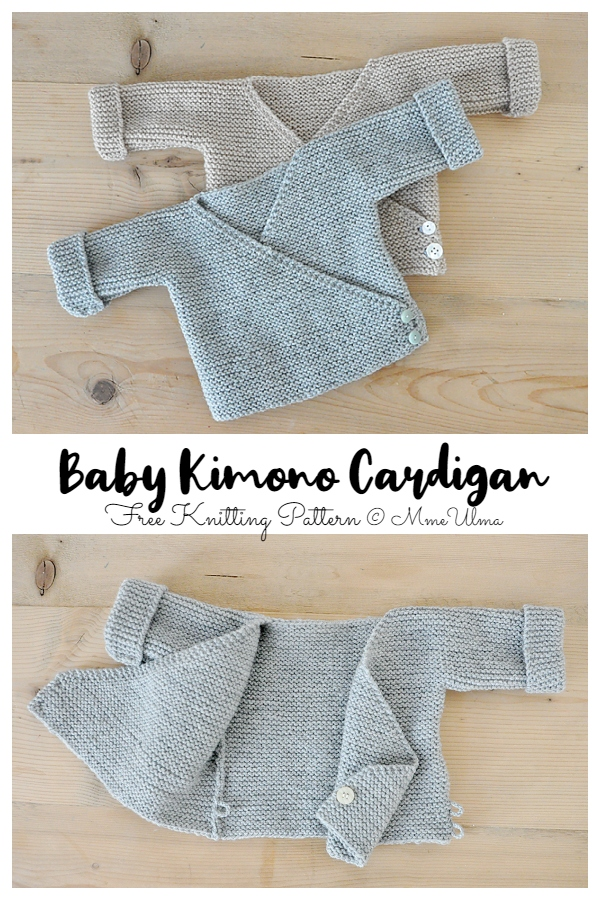 Easy Knit Baby Kimono Cardigan Free Patterns