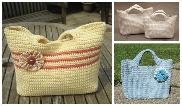Classic Starling Handbag Free Crochet Pattern + Video