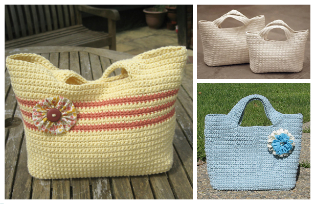 Crochet Starling Handbag Free Crochet Pattern - Video