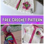 Crochet Girls Flower Cardigan Free Patterns