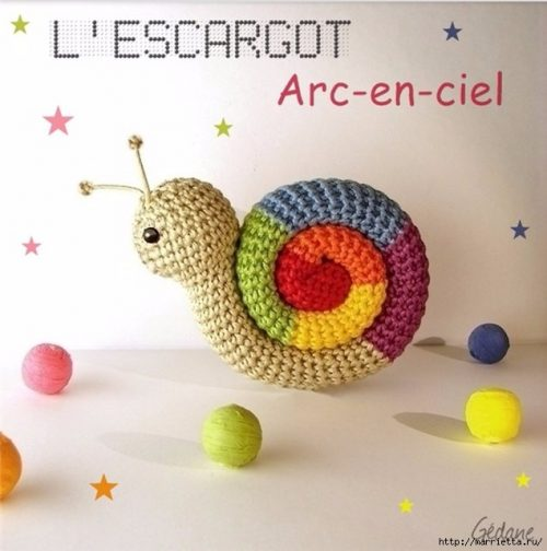 Crochet Snail Pattern Best Ideas | The WHOot | 504x500