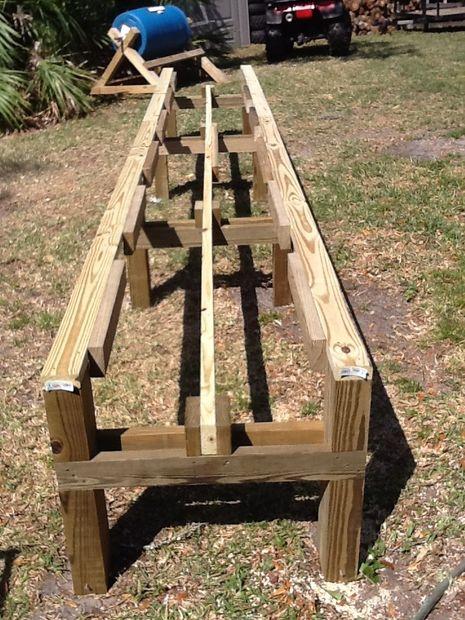 DIY Raised Drum Planter Stand Tutorial