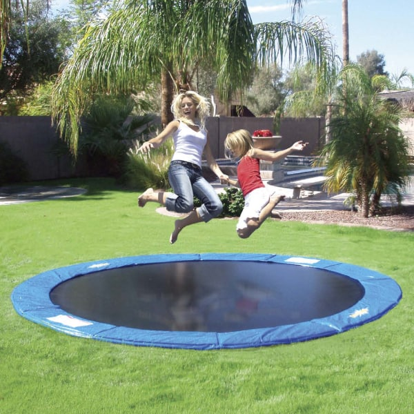 DIY In-Ground Sunken Trampoline Tutorial