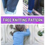 DIY Knit Baby Jean Pants Free Knitting Pattern