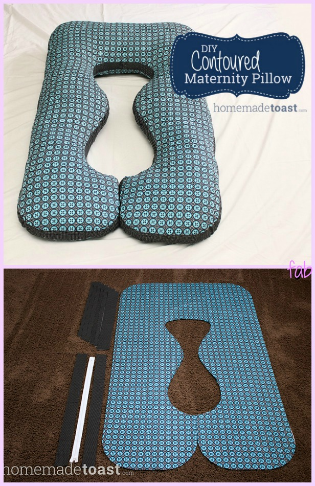 DIY Pregancy Body Pillow Tutorial