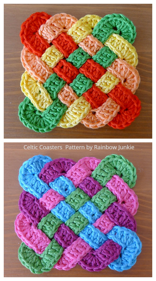 Crochet Celtic Knot Square Crochet Pattern