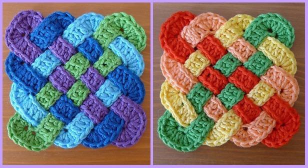 Fabartdiy Crochet Celtic Knot Square Free Pattern Ft Diy Magazine