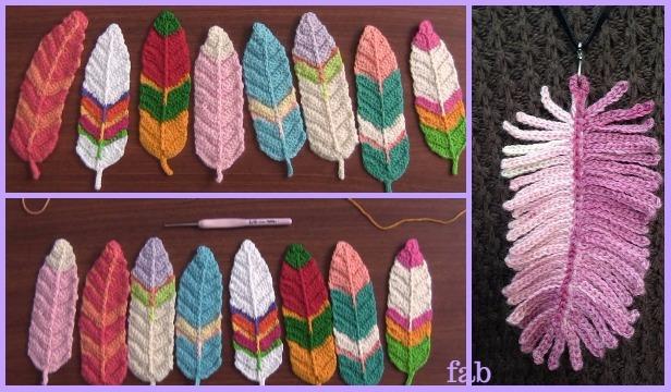 Crochet Feathers Free Patterns-Video