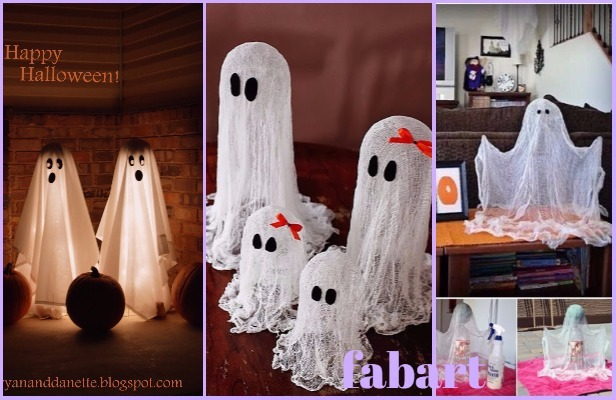 DIY Halloween Ghost Decoration Tutorials