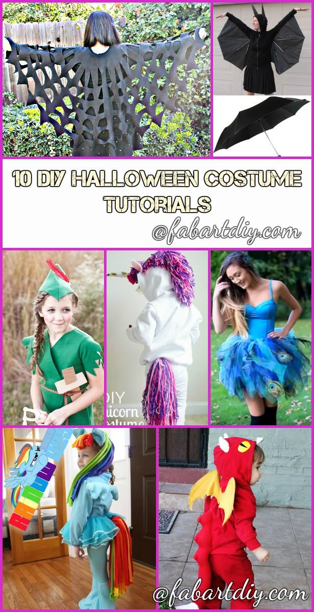 DIY Halloween Costume Tutorials for This Halloween